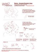 Learn Manga: Dynamic Lines by Naschi