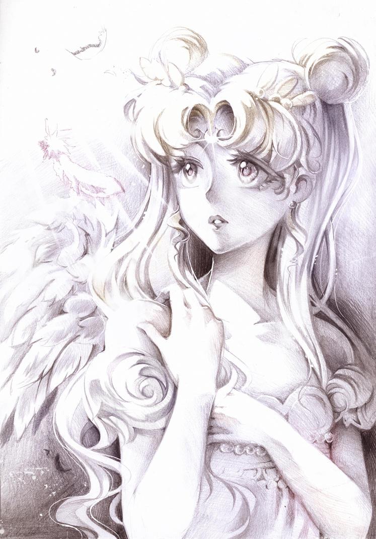 Sailor Moon: Princess Serenity by Naschi