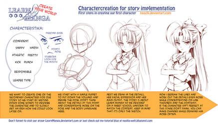 Learn Manga: Create your World - Charactercreation by Naschi