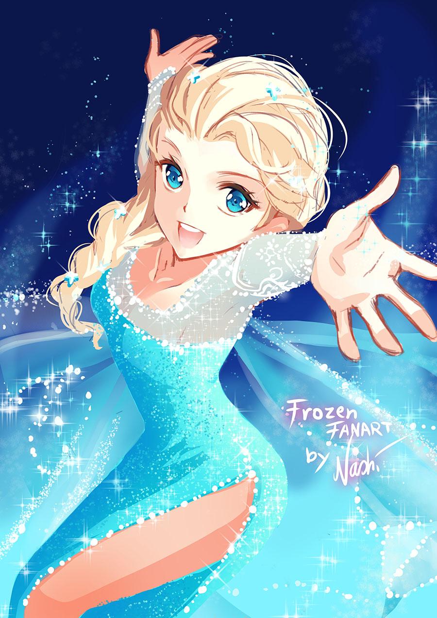 Disney Frozen by Naschi