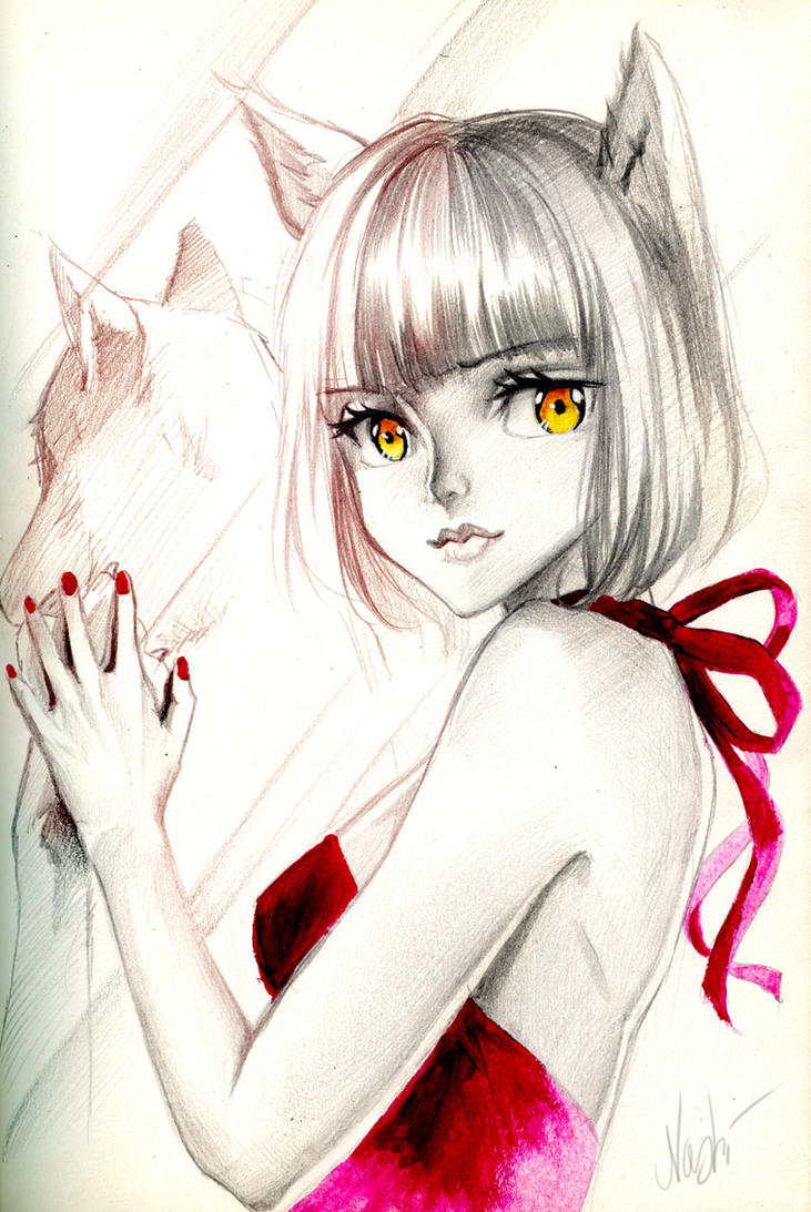 Wolf Girl by Naschi