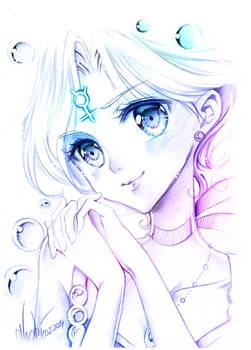 Sailor Mercurys smile