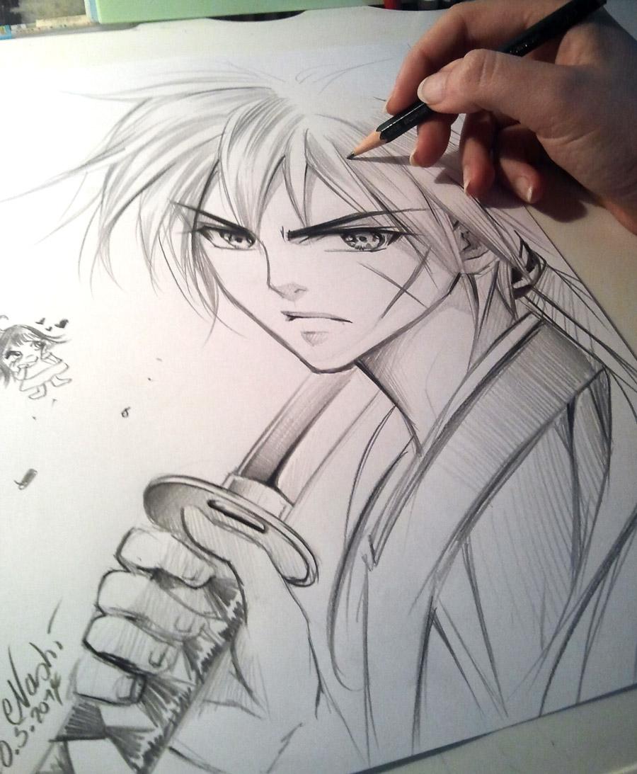 Kenshin By Naschi On DeviantArt