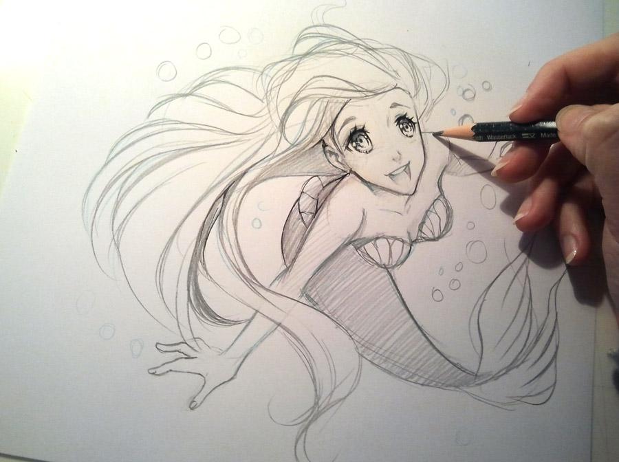 Arielle by Naschi