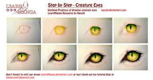 Creature Eye Step by Step