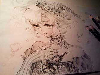 Sad little Juni by Naschi