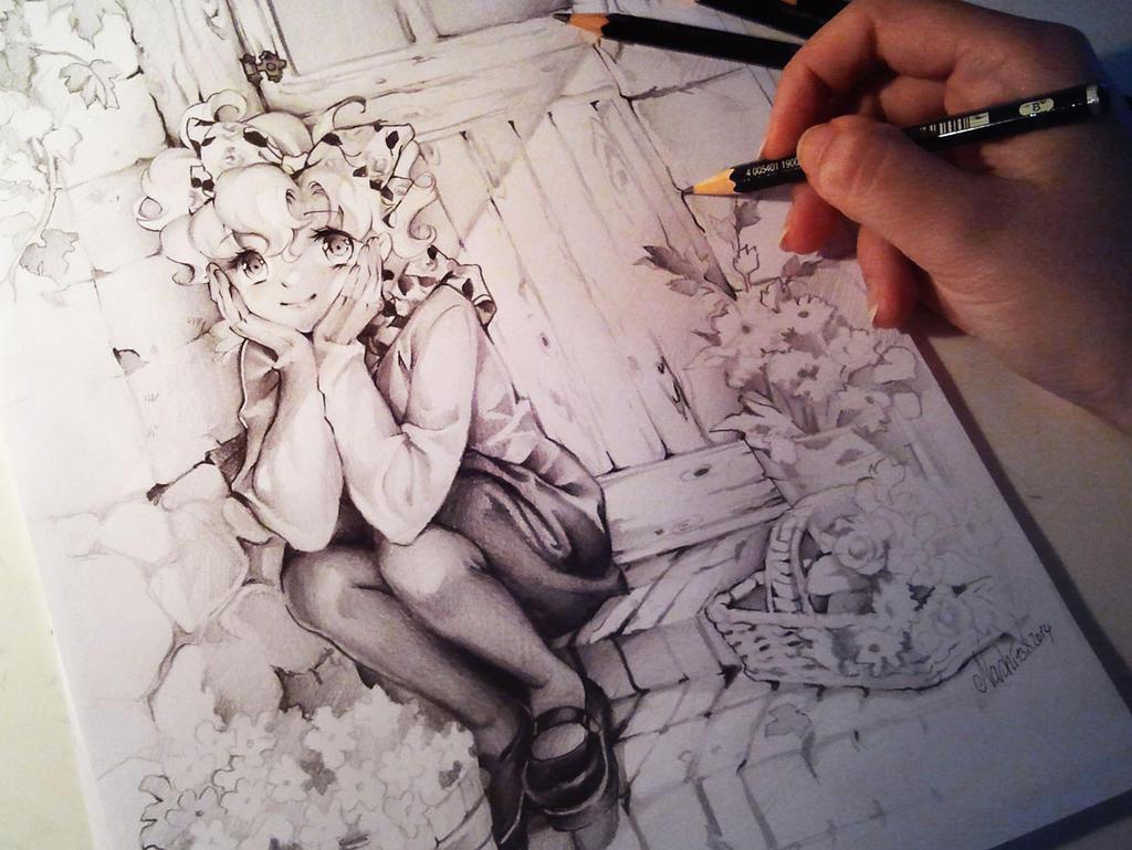 Dibujos En Lapiz (blanco Y Negro)