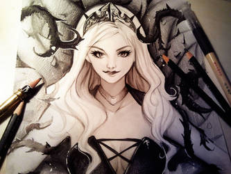 Queen of the Thorns by Naschi