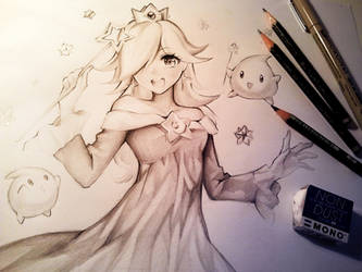 Rosalina DRAWING VIDEO