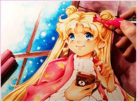 Winter Tea WIP by Naschi