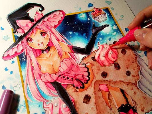 Sugar Cupcake Witch ^_^