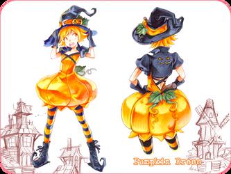 Pumpkin Fashion Design by Naschi