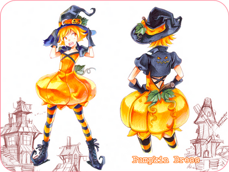 Pumpkin Fashion Design