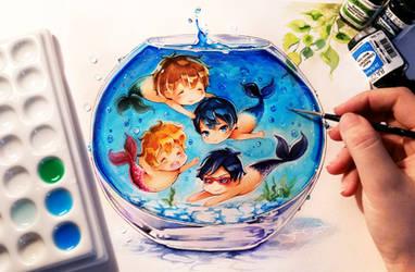 Peixe de graça por Naschi