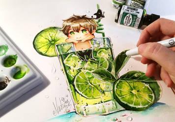 Makoto Tonic Summer Splash by Naschi