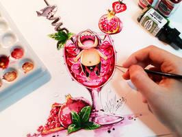 Rin Bloody Skark Supreme by Naschi
