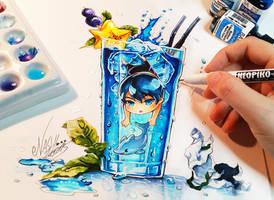 Haru The Deep Blue by Naschi