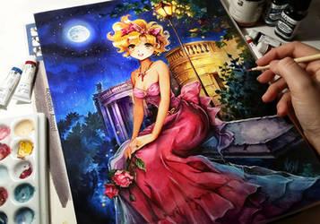 Golden Night by Naschi
