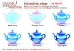 LearnManga Watercolorsteps Teapot
