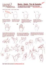 LearnManga Basics Hands Part 1