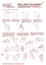 LearnManga Basics Hands Part 1