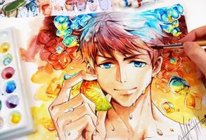 Sousuke Ice Crush by Naschi