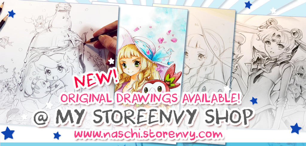 New Originals available by Naschi