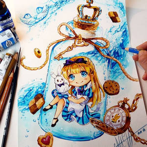 + Alice in the Bottle +