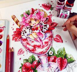 Sonho de morango por Naschi