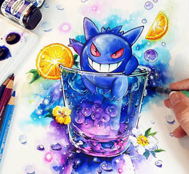 Gengar Ghost Energie by Naschi