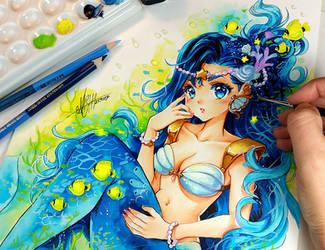 Oceano Azul por Naschi