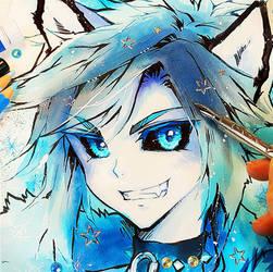 Menino Husky por Naschi