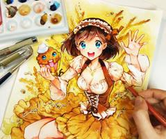 Tomoko by Naschi