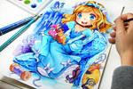 Cinderella Glass Pump