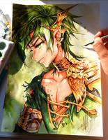 Green Spirit by Naschi