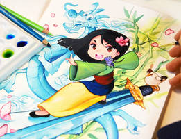Mulan by Naschi