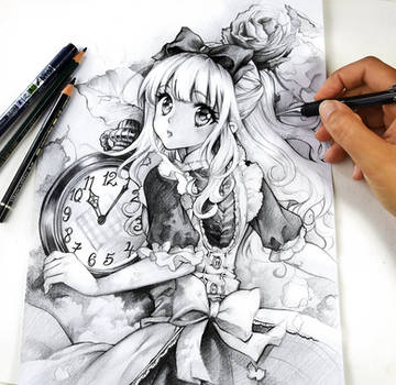 É hora, Alice de Naschi