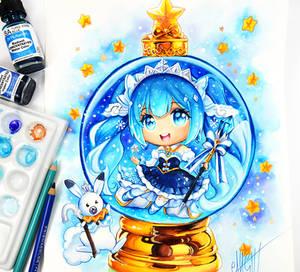 Snow Princess Miku