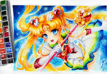 Usagi Super Sailor Moon de Naschi