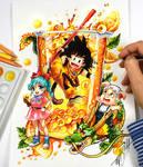 Dragon Ball Cocktail Color