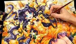 Luna Sailor Moon by Naschi