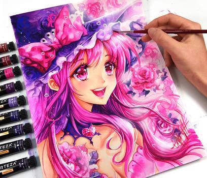 Açúcar Shoujo Pink por Naschi