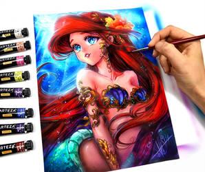 Ariel by Naschi