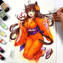 Fugi-chan by Naschi