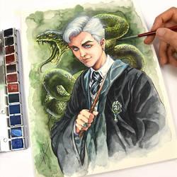 Draco Malfoy by Naschi