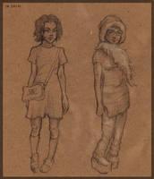 Sketch Girls by MirraGray