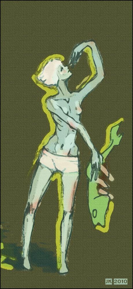 Fisherwoman by MirraGray