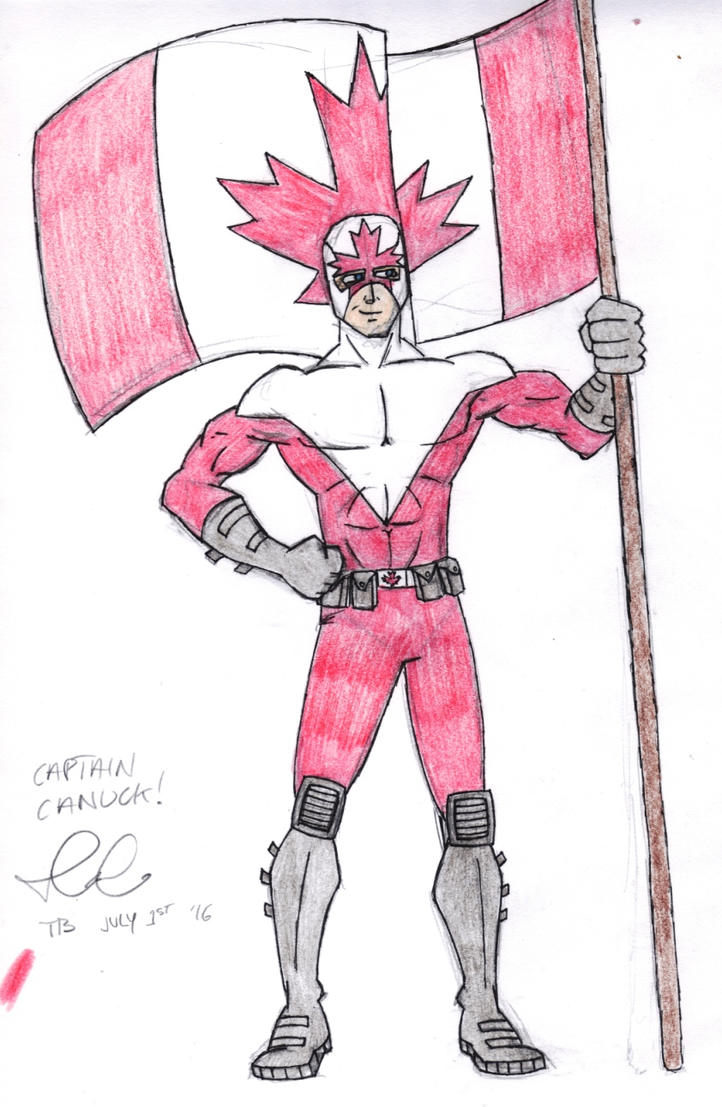 Captain Canuck by TommyBoyCreations