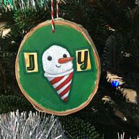 Joy Snow Cone Ornament