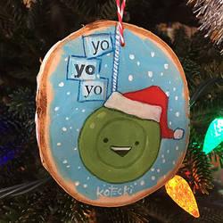 Yo Yo Yo Ornament